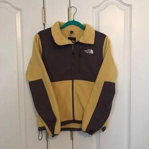 Yellow Northface Denali Jacket